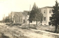 #throwbackthursday to the Central Spring Co., c. 1925. This industry was located at 133 Ritson N. & they made springs for all automobiles. #historyliveshere #oshawamuseum #ouroshawa #oshawahistoryliveshere #vintage #tbt #oshawa #industry