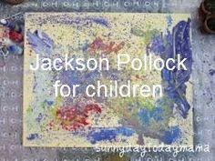 http://sunnydaytodaymama.blogspot.co.uk/2012/03/jackson-pollock-for-children.html
