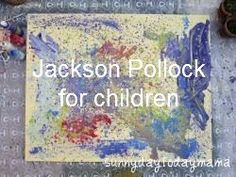 Jackson Pollock for children