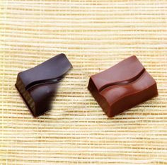 Double Staggered Rectangular Chocolate Mould