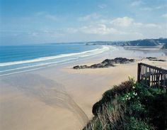Fistral Beach in Newquay Cornwall England. My grandmother went here quite often when she was growing up.