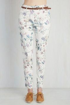 These wonderful floral pants. | 21 Beautiful Wildflower Products You Need In Your Life
