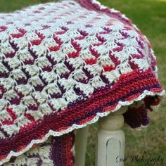 Crochet Pattern, Ribbon Candy Afghan fun, beautiful, warm infant to King size blanket Chevron Crochet Patterns, Afghan Crochet Patterns, Crochet Designs, Crochet Afghans, Christmas Afghan, Crochet Christmas, King Size Blanket, Ribbon Candy, Crochet Projects
