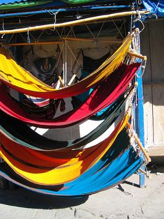 hammocks Luxury outdoor home ideas.