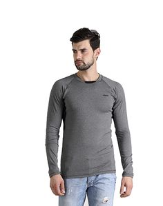 Men' Plain Dark Grey T-shirt – Atheno India