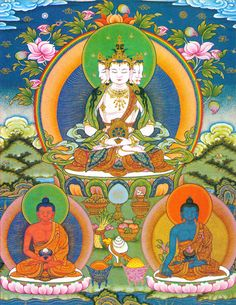 Four headed Vairocana