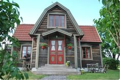 "Swedish farm house - ""the main building"""