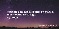 Waarom het niet te laat is om je leven te veranderen | ✅ Wim Annerel | LinkedIn