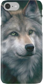 Grey Wolf iPhone 7 Cases