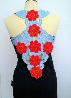 Kaufe meinen Artikel bei #Kleiderkreisel http://www.kleiderkreisel.de/damenmode/tanktops/113073018-tank-top-schwarz-shirt-hippie-flower-power-blumen
