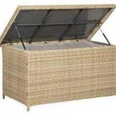 1140 L Aufbewahrungsbox Aus Gartendiy Garten Diy Garden Cushions Garden Storage Tropical Furniture