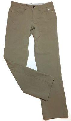 MOUNTAIN Hardwear Pants 6 Stretch Low-rise Khaki Nylon Elastan Hiking   | eBay