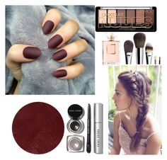 """Wine"" by melady0202 on Polyvore featuring косметика, Burberry, Bobbi Brown Cosmetics и Chanel"