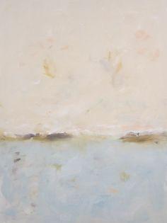 Large Ocean Seascape Painting Orignal Art - Soft Sea 36 x 48 via Etsy