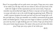 the goodbye letter Amazing Quotes, Great Quotes, Quotes To Live By, Inspirational Quotes, Missing Home Quotes, Deep Quotes, Piece Of Me, Word Porn, Beautiful Words