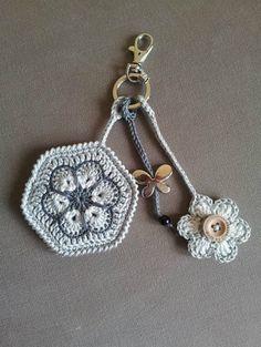 Crochet Free Pattern Purse Charts Ideas For 2019 Diy Tricot Crochet, Love Crochet, Crochet Gifts, Crochet Motif, Crochet Flowers, Ravelry Crochet, Crochet Key Chain, Crochet Cupcake, Crochet Keychain Pattern