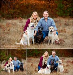 A fall mini session with a couple and three dogs by West Georgia pet photographer, Simply Corey Photography. Located near Atlanta, Newnan, and Villa Rica. Fall Dog Photos, Fall Couple Pictures, Fall Pics, Photos With Dog, Fall Family Photos, Dog Pictures, Fall Family Picture Outfits, Christmas Pictures Outfits, Christmas Pics