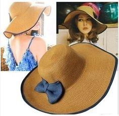Дешевое Оберточная бумага strawhat большой вдоль sunbonnet шляп шляпа женская cap, Купить Качество Летние шляпы непосредственно из китайских фирмах-поставщиках:   ДЕТАЛИ ПРОДУКТА         10 шт. много Бесплатная доставка!!                         Просьба оставить сообщение для цвет