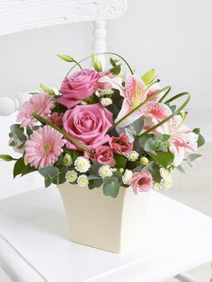 christening flowers ideas - Google Search