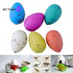 6 Pcs Magic Hatching Growing Dinosaur Fun Toy Add Water Grow Dino Egg Children Kid Fun Funny Toys Gift Gadget