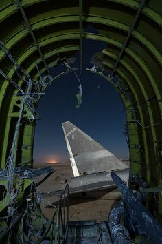 The world's abandoned airplane graveyards are spectacular to behold; corroding hulks of mighty fighter jets, bombers and commercial craft turning to rust. B 52 Stratofortress, Exterior Lighting, Great Shots, Abandoned Places, Airplane View, Fighter Jets, Aviation, Urban, History