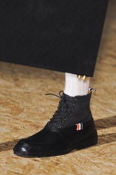 Thom Browne Men's Details A/W '13...I Adore Thom's Shoes