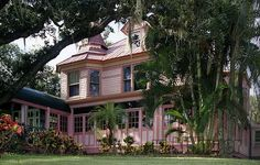I have so many wonderful childhood memories of the Strawberry Mansion in Melbourne Florida