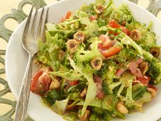 Alton Brown's Fresh Broccoli Salad Recipe