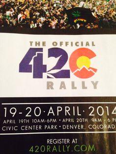 #420 Rally in #Colorado