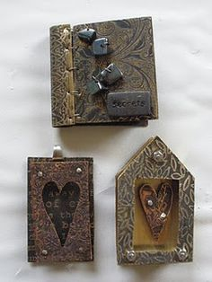 Little book and frames.  Could make similar things with hearts and frames from Factory Direct.