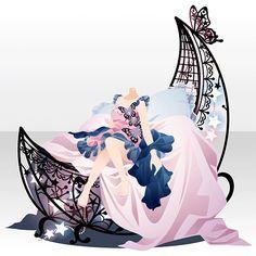 満月に踊る蝶のいざない…ガチャ@セルフィ「Lunar Butterfly」登場!
