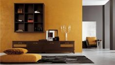 Wonderful Ethnic Living Room Designs: Wonderful Ethnic Living Room Designs With Yellow Grey Wall Color Sofa Pilloe Wooden Table Cabinet Candle Carpet Ethnic Living Room, Indian Living Rooms, Living Room Grey, Living Room Decor, Room Paint Colors, Paint Colors For Living Room, Wall Colors, Living Room Color Schemes, Living Room Designs
