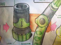 Dibujos manguera Geolia