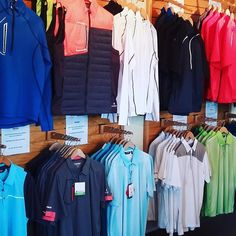 Tee off with our Pro Shop!  Buy 1 #Sunice outerwear & get a Sunice tshirt 40% off.  #algonquinresort #algonquingolf #newbrunswick #golfnb #golfcanada #golf