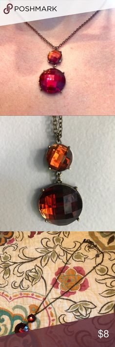 Premier Bronze/Brown Necklace Bronze/brown necklace. Beautiful in the fall! Premier Designs Jewelry Necklaces