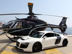 The R8 & Charlie Tango!