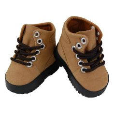 The Queen's Treasures Hiking Boot Shoes For Use With 18-inch Dolls and Doll Clothing
