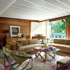 Dakota Johnson, Architectural Digest, Living Room Inspiration, Interior Design Inspiration, Johnson House, Outdoor Furniture Design, Luxury Homes Interior, Celebrity Houses, Interior Design Living Room