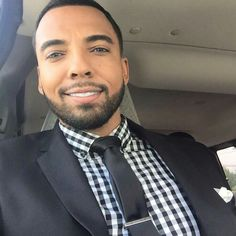 Christian Keyes, Black Men Beards, Bearded Men, Actors, Sexy, Fashion, Men Beard, Moda, La Mode