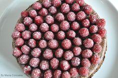 Raspberry Double Chocolate Cheesecake