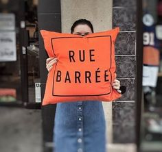We make Montreal's biggest obstacle to happiness, construction, a soft, cuddly and positive experience. Reusable Tote Bags, Pillows, Collection, House, Cushion, Throw Pillow, Cushions