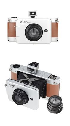 Belair X 6-12 Jetsetter - Take breathtaking 6x12, 6x6, or 6x9 photos with this original medium-format camera with automatic shutter settings.