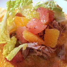 Carnitas Tacos with Citrus Salsa