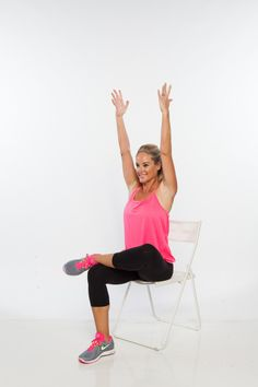 6 Seated Yoga Stretches for Walkers and Runners ‹ Hello Healthy