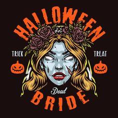 Halloween 2021 costume design. 100% vector, editable text. Download on our website.