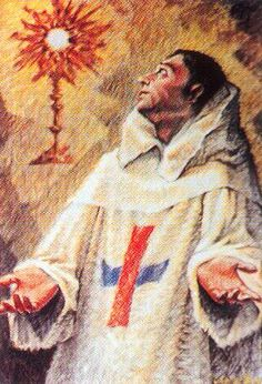 St. Miguel de Santis - Found his vocation to the religious life at an early age and led a life of zealous prayer and devotion to the Eucharist. Feast day - 4/10. Lord, help me to make my life and each act I commit an intentional prayer. Foster in me a desire to always serve you and others with the gifts you have showered upon me.