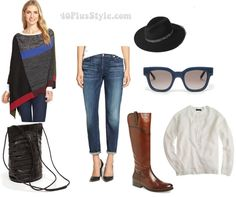 Fabulous and on sale this week: Jeans worn in 4 different ways | 40plusstyle.com