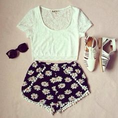 Follow @TheMeanGirl for more {Summer Outfits} and to see what I'll be packing for my trip to Hawaii! :)