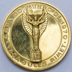 Medalha de ouro Brasil, MAGNIFICA medalha Copa do Mundo..
