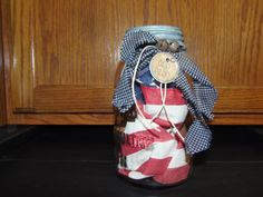 Americana Atlas Canning Jar by DenisesKountryPatch on Etsy, $11.95